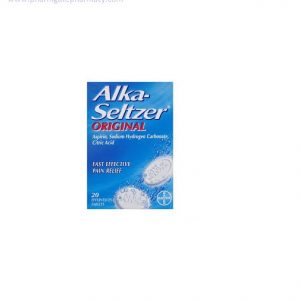 Alka-seltzer Tablets Original X 20