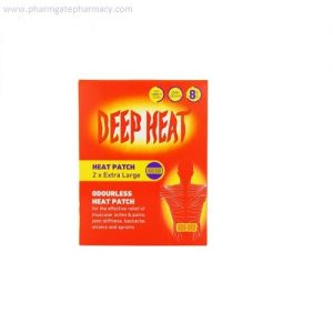 Deep Heat Patch Pack of 2