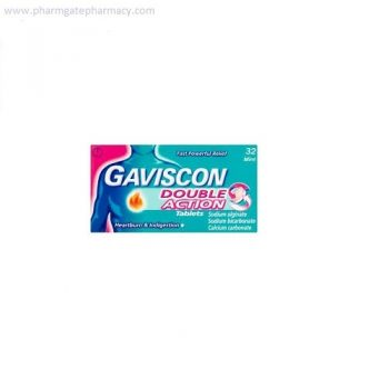 Gaviscon Double Action Tablets X 32
