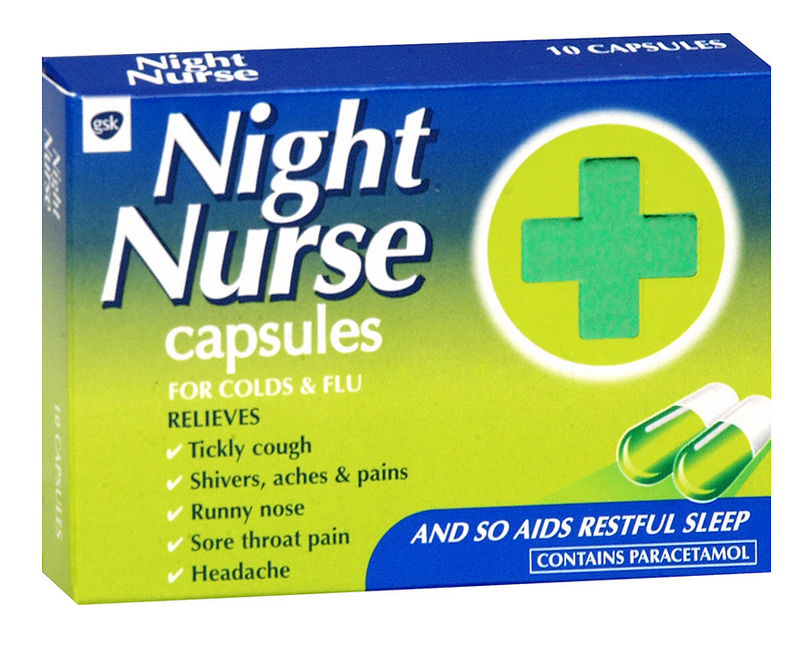 Night Nurse capsule x 10 - PharmGate™ Pharmacy