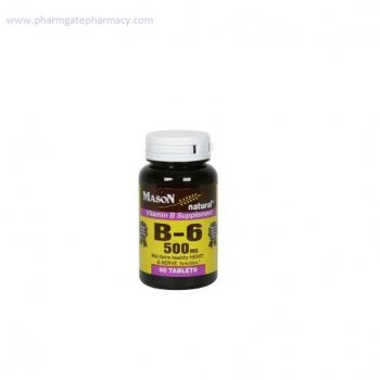 Mason Vitamin B6 – 50mg x 60 Tablets