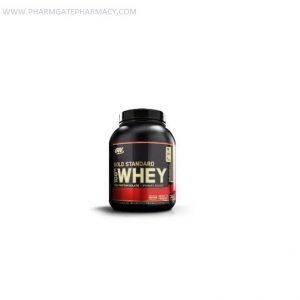 Optimum Nutrition, 100% Whey, Gold Standard, Double Rich Chocolate, 5 lbs