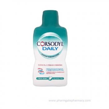 Corsodyl Daily Defence Mouthwash X 500ml
