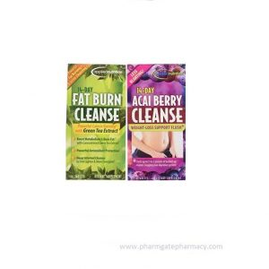 14-Day Acai Berry Cleanse + 14-Day Fat Burn Cleanse Value Pack X 56