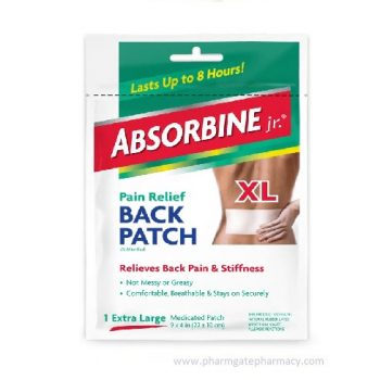 Absorbine Jr. Pain Relief Back Patch, 1-Count