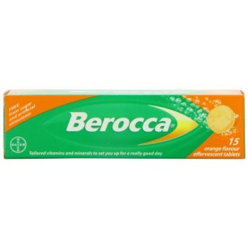 Berocca Effervescent Orange X15