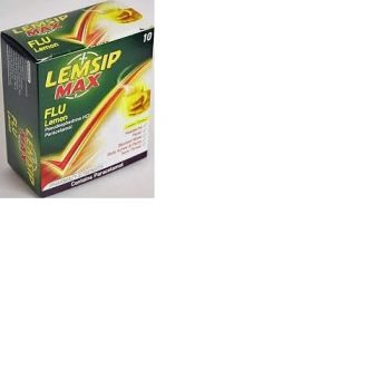 Lemsip Max Flu Lemon Pack of 10