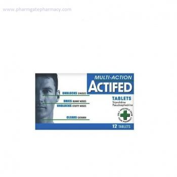 Actifed Multi Action Tablets X 12