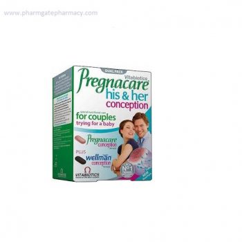 Pregnacare Conception His & Hers Tabs X 60