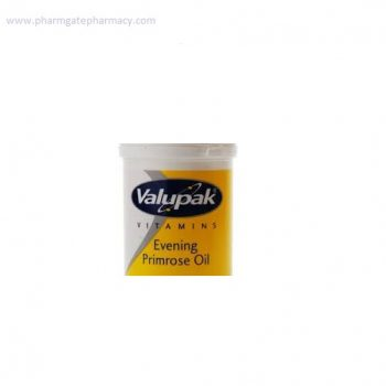 Valupak Evening Primrose Oil Capsules 500mg X 30