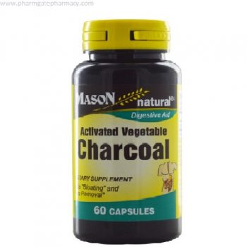 Mason Activated Vegetable Charcoal X 60 Capsules