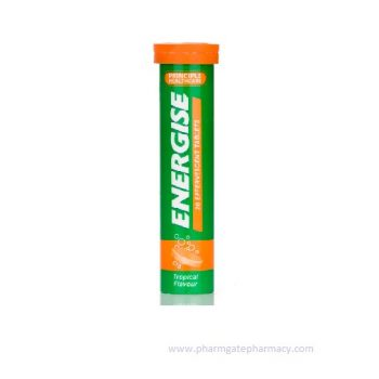 Principle – Energise Tropical Flavour Effervescent Tablets x 20