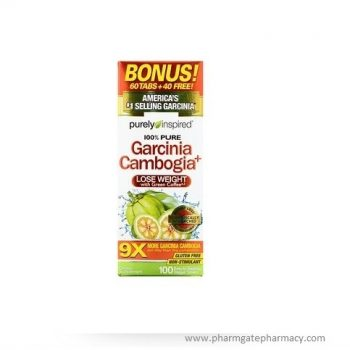 Garcinia Cambogia+, 100 Easy-to-Swallow Veggie Tablets