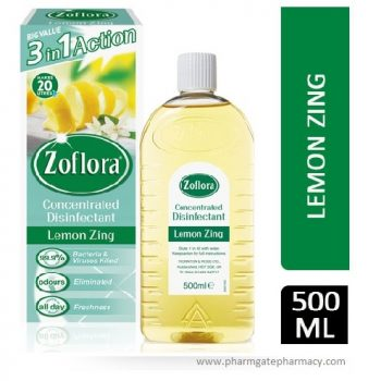 Zoflora Disinfectant Lemon Zing 500ml